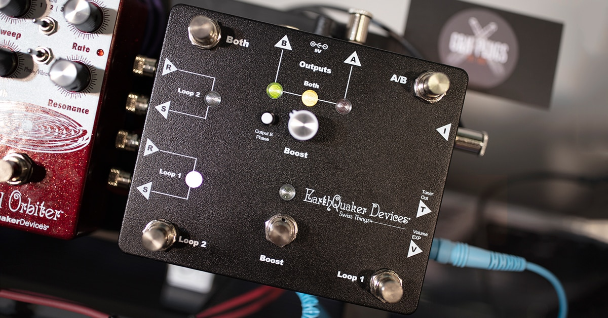 Hands-On Review: EarthQuaker Devices Swiss Things