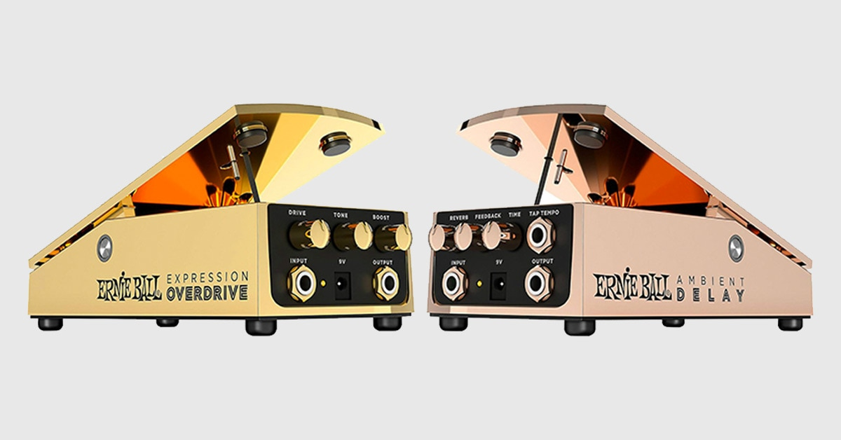 First Look: Ernie Ball Expression Overdrive & Ambient Delay Pedals