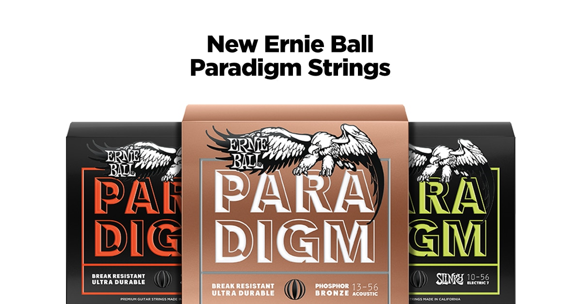Hands-On Review: Ernie Ball Paradigm Guitar Strings