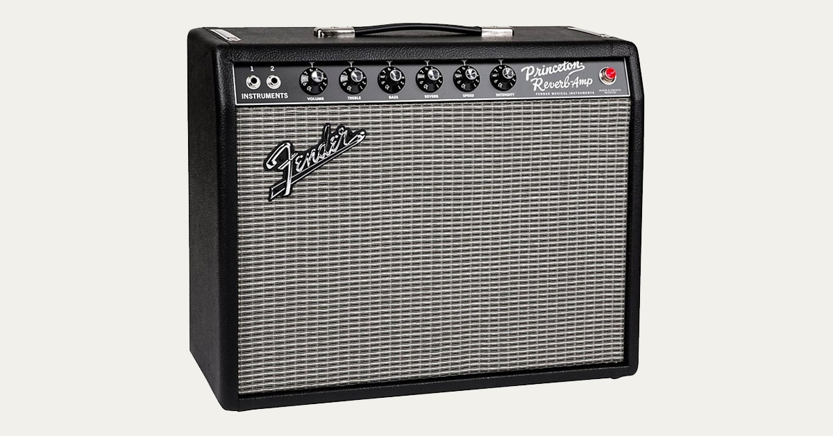 Hands-On Review: Fender '65 Princeton Reverb Guitar Amp