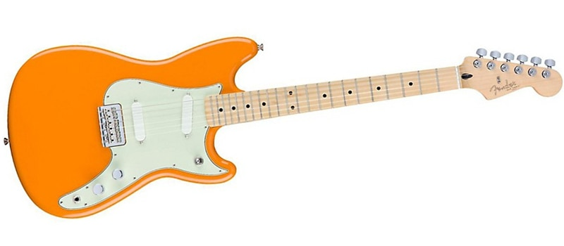Fender Duo-Sonic Electric Guitar Capri Orange