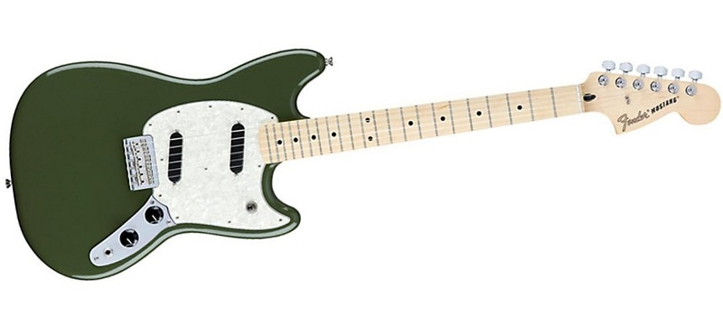 Fender Mustang Electric Guitar Olive Green