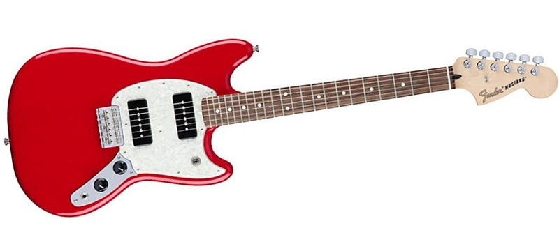 Fender Mustang P90 Electric Guitar Red Torino