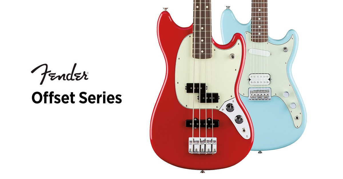 Product Spotlight: Fender Offset Series