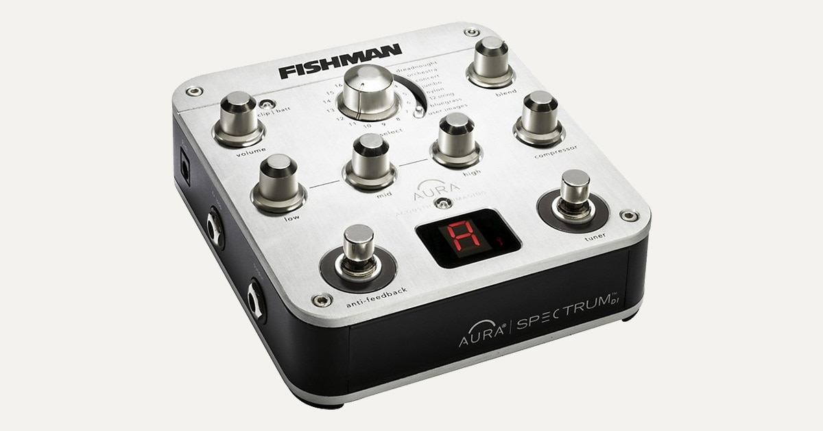 Hands-On Review: Fishman Aura Spectrum DI and Guitar Preamp