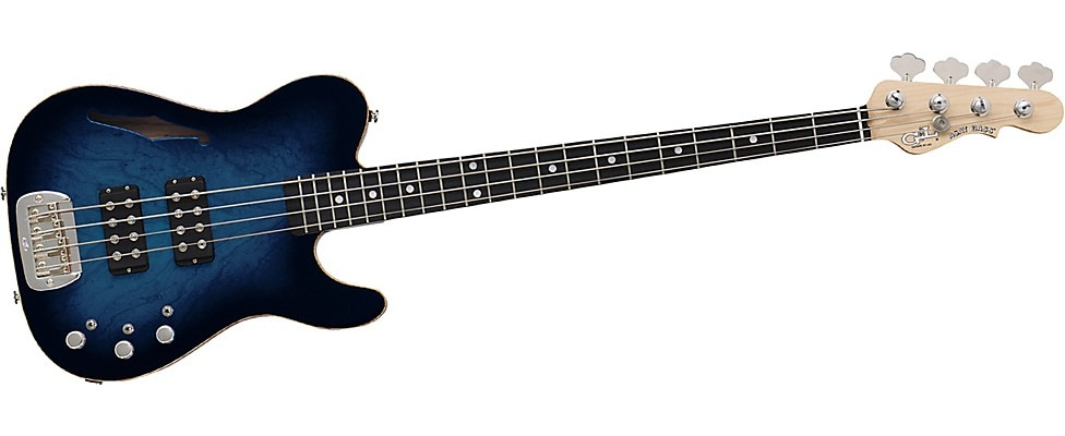 G&L Semi-Hollow ASAT Electric Bass