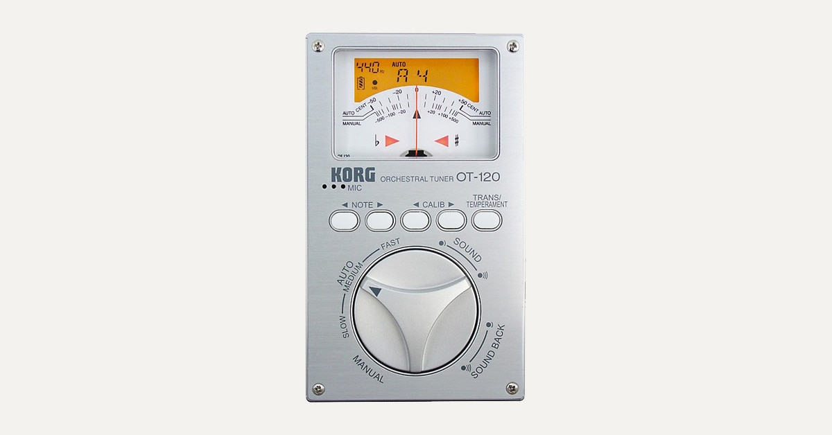 Hands-On Review: Korg OT-120 Chromatic Orchestral Tuner