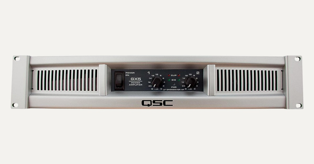Hands-On Review: QSC GX5 Power Amp