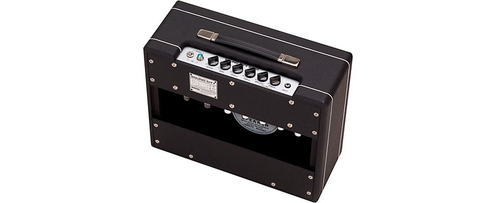 Sound City SC-20 Combo Amplifier Rear View