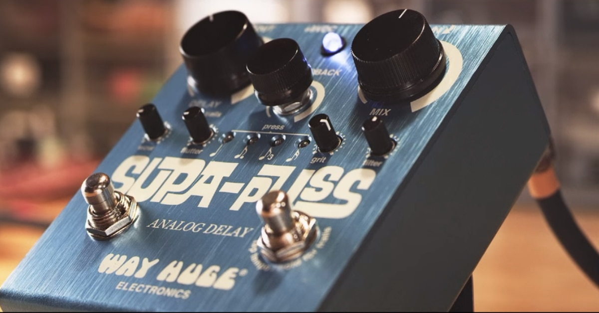 Way Huge Electronics Supa Puss Analog Delay