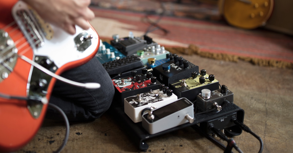 Anatomy of a Guitar Pedalboard