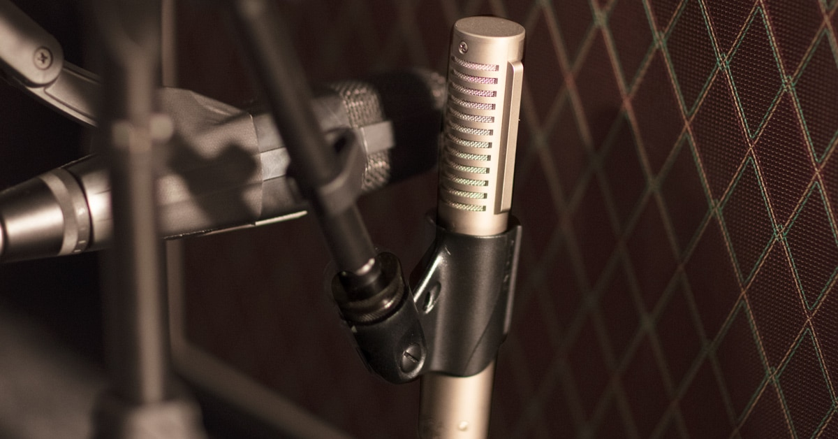 Recording Guitar Amps with Multiple Microphones