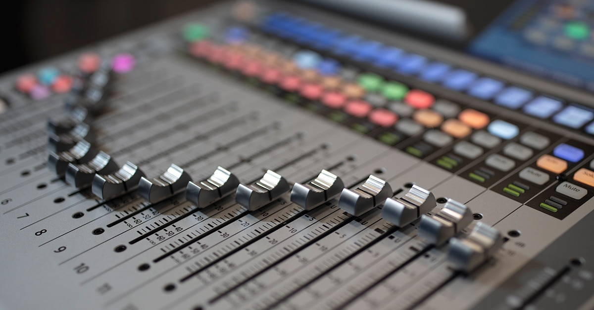 Tech Tip: Mixing Board Pre-Fader & Post-Fader Aux Sends