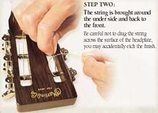Step 2a Slotted Headstock Pass Through Tuning Machine Slot