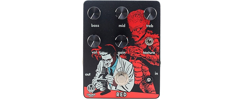 Walrus Audio Red High-Gain Distortion Pedal